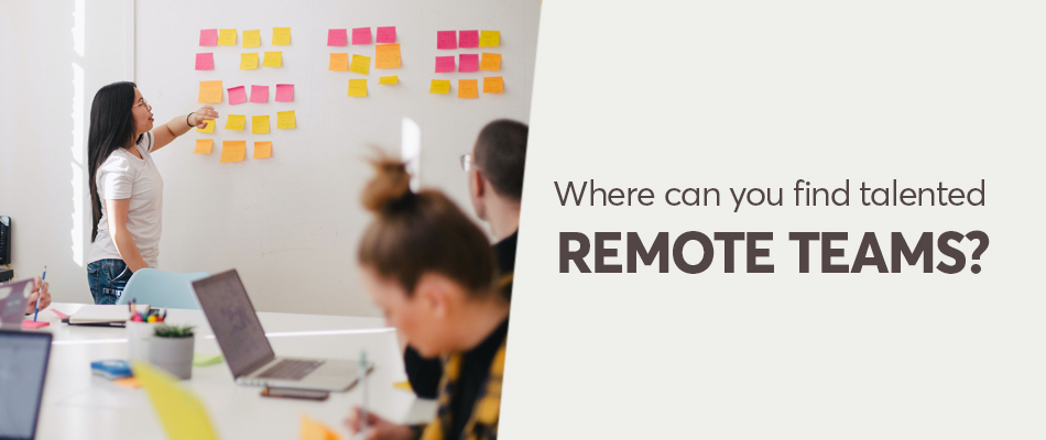 remote working Pave the new path for hiring